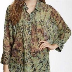 ⭐️Da-Nang Silk Oversize Blouse